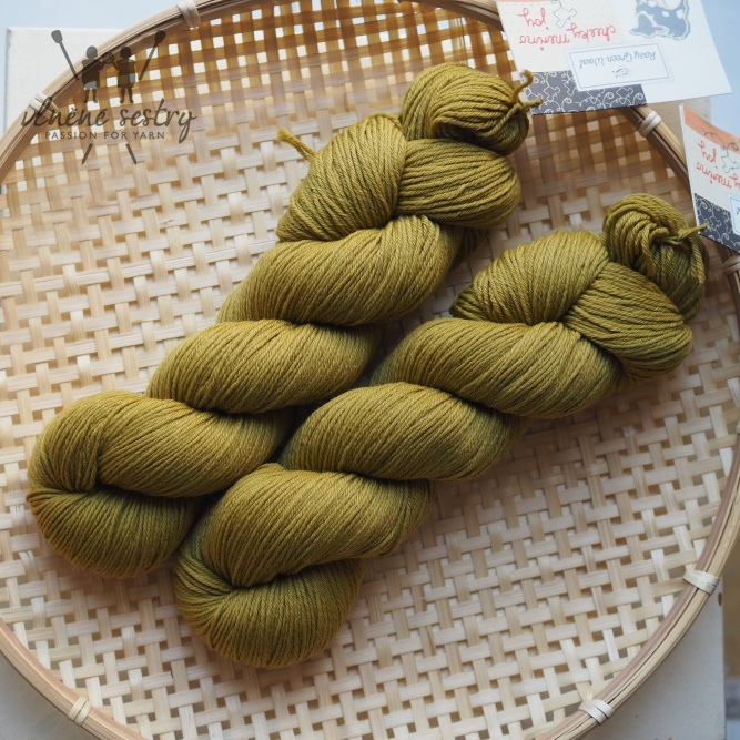 Cheeky Merino Joy - Moss