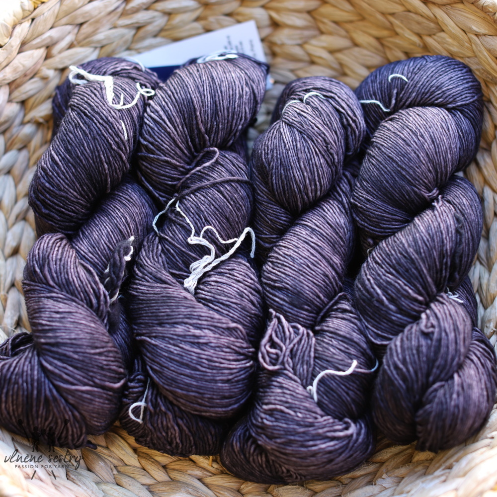 Malabrigo Mechita 811 Eggplant