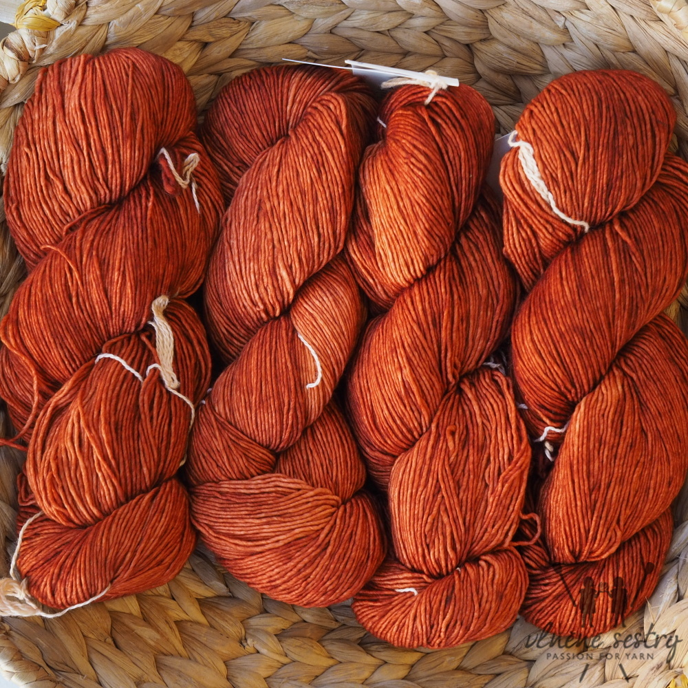 Malabrigo Mechita 895 Dried Orange