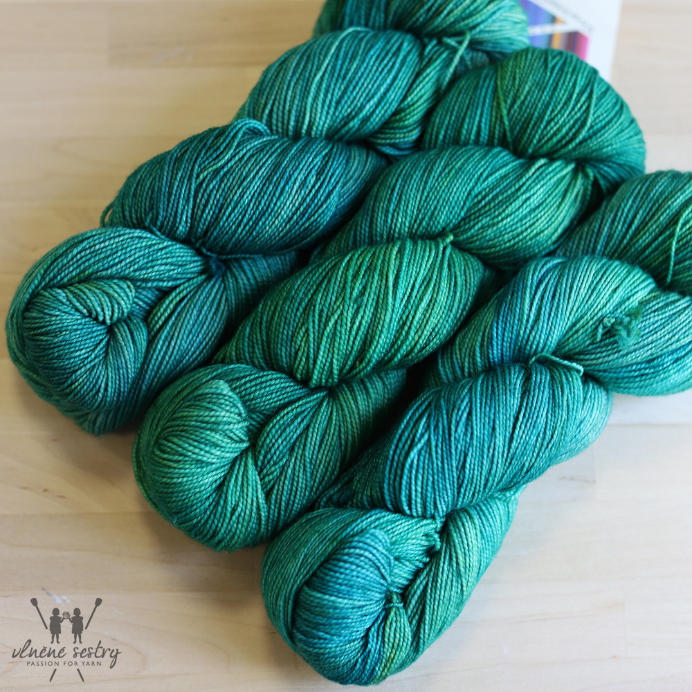 Vivacious 4 Ply - Sea Green