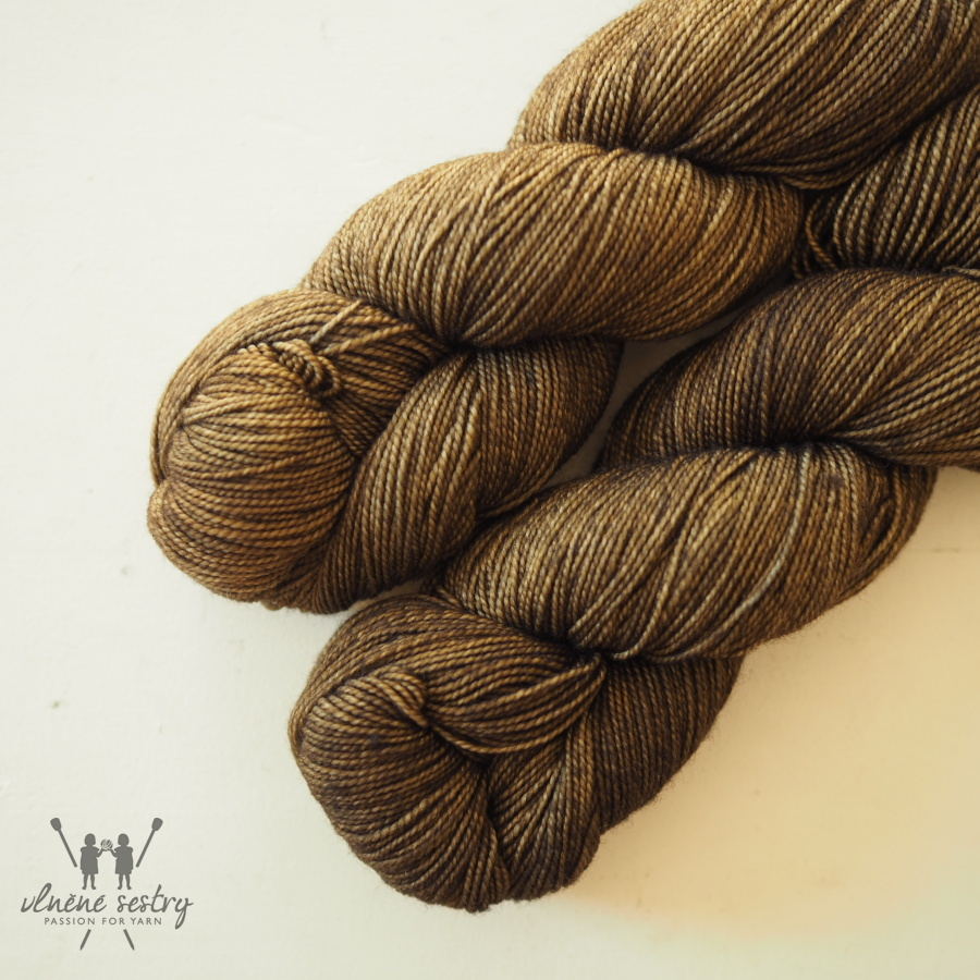 Vivacious 4 Ply - Silver and Bronze