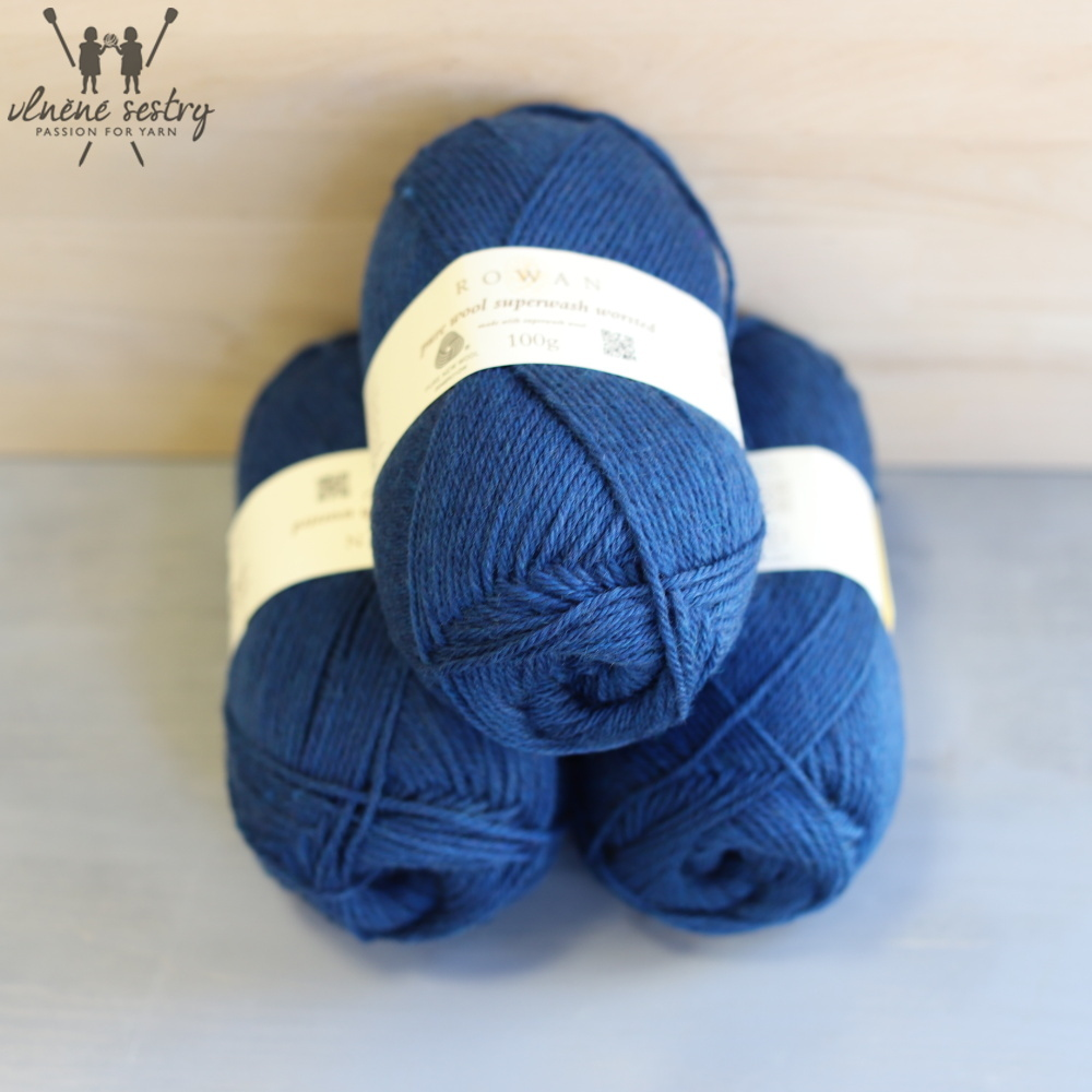 Pure Wool Worsted 143 Electric