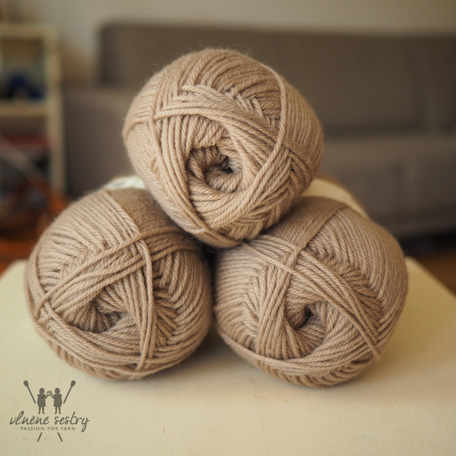 Pure Wool Worsted 103 Almond