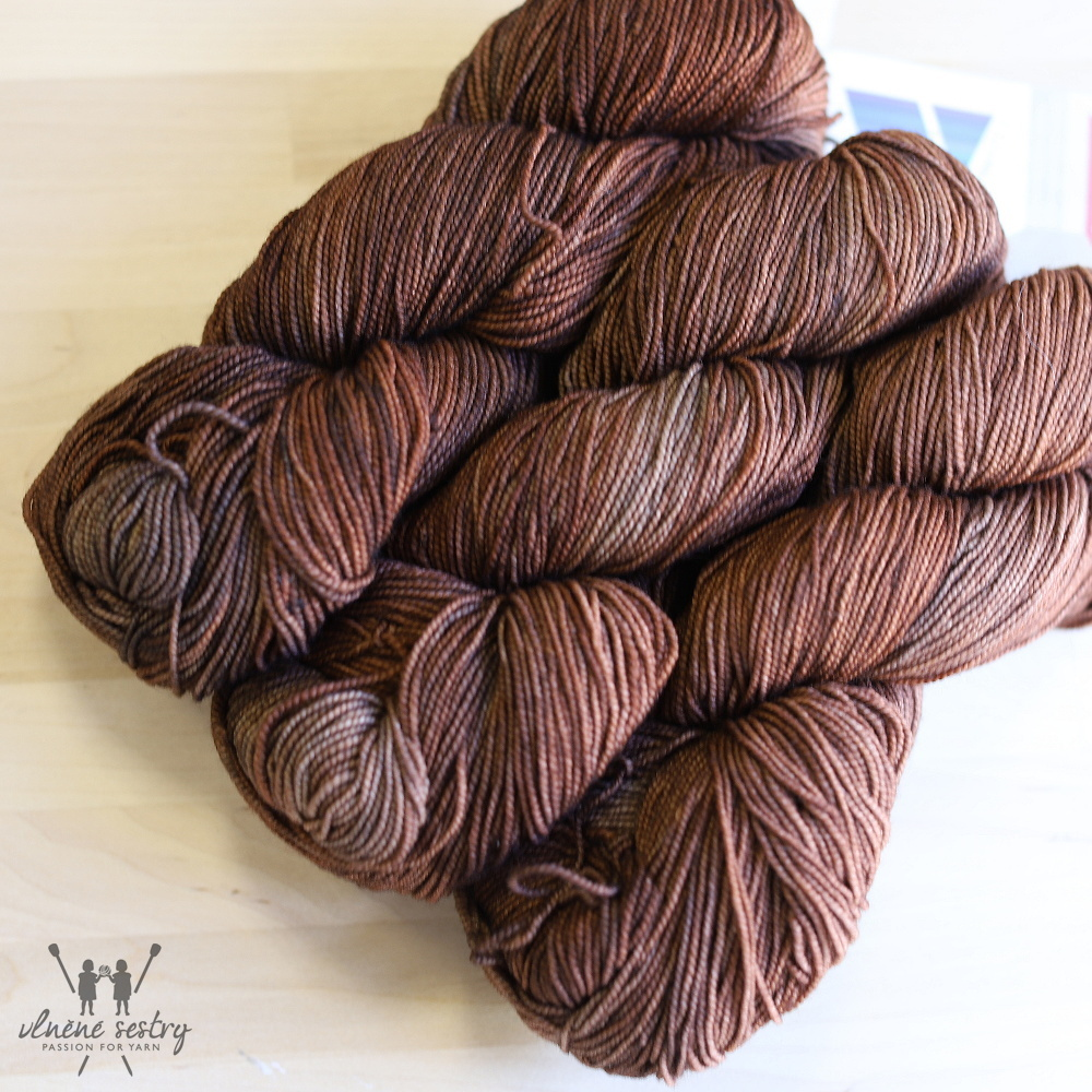 Vivacious 4 Ply - Copper Tones