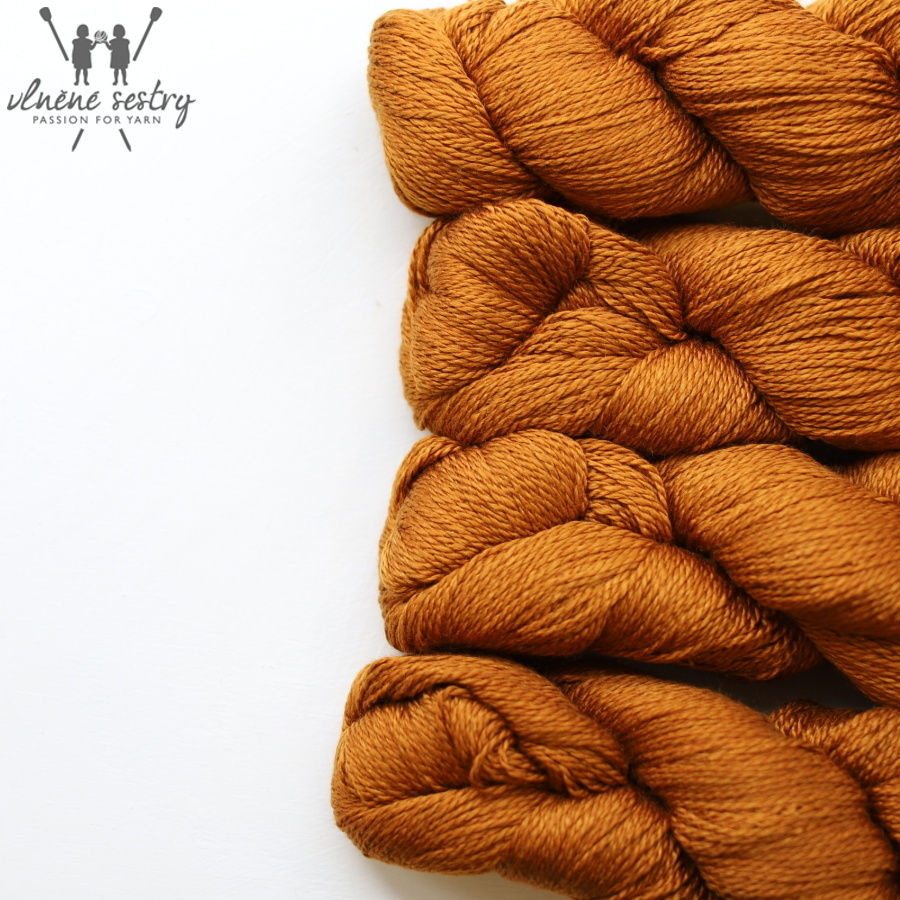 Scrumptious 4 ply - Burnt Orange