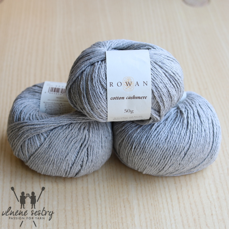 Cotton Cashmere -  224 Silver Lining