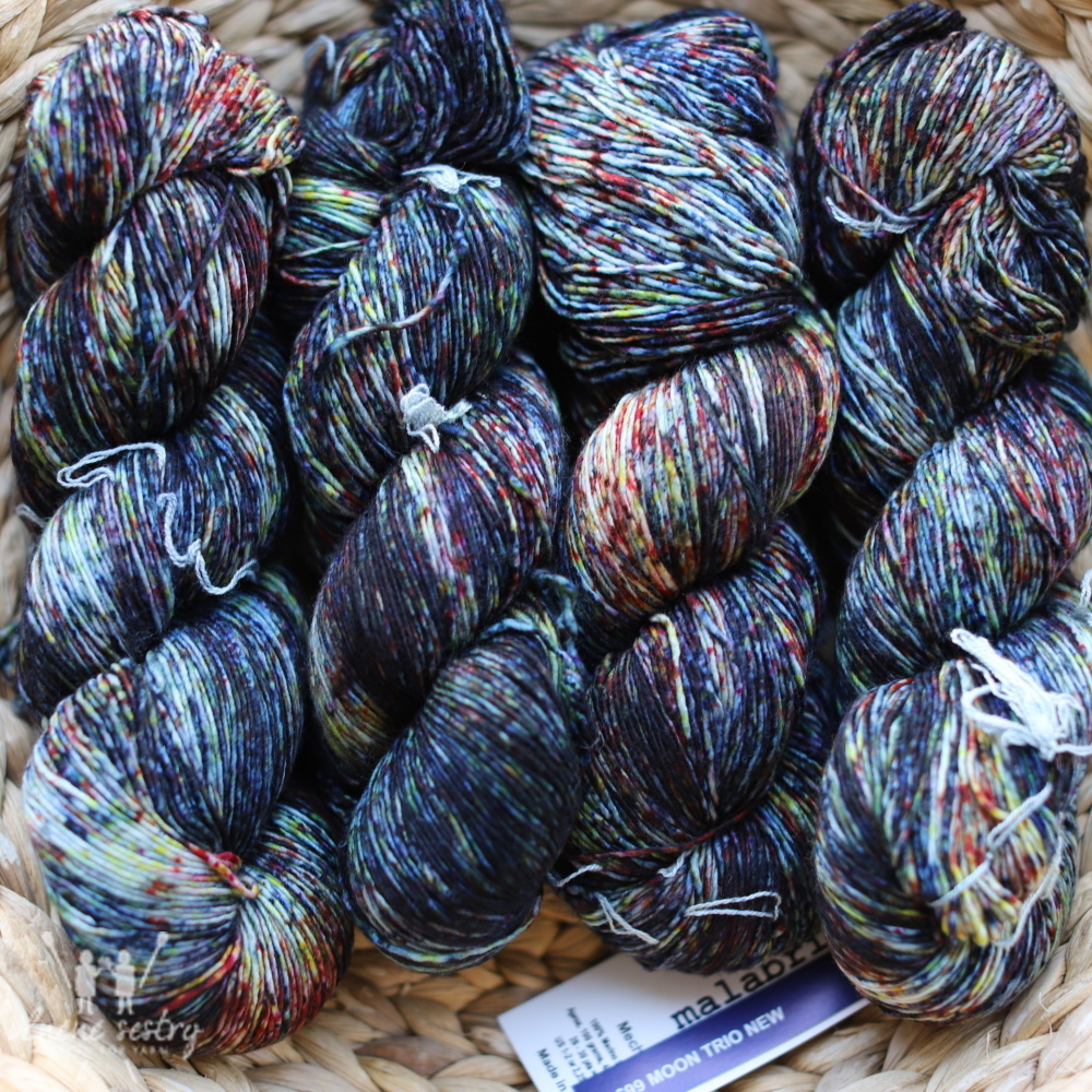 Malabrigo Mechita 699 Moon Trio New