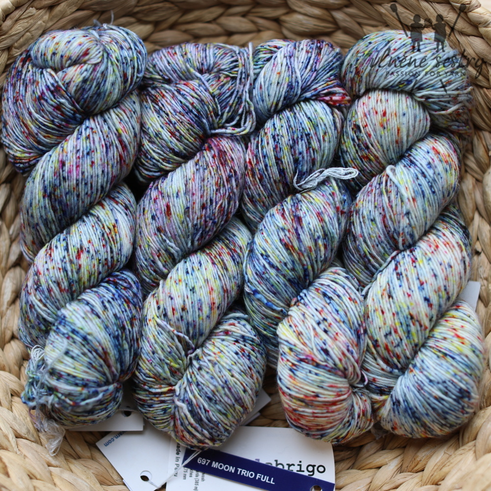 Malabrigo Mechita 697 Moon Trio Full