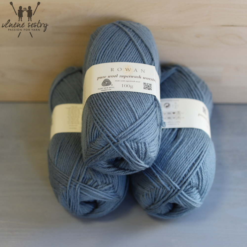 Pure Wool Worsted 192 Mineral