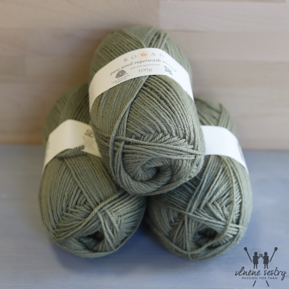 Pure Wool Worsted 193 Fern