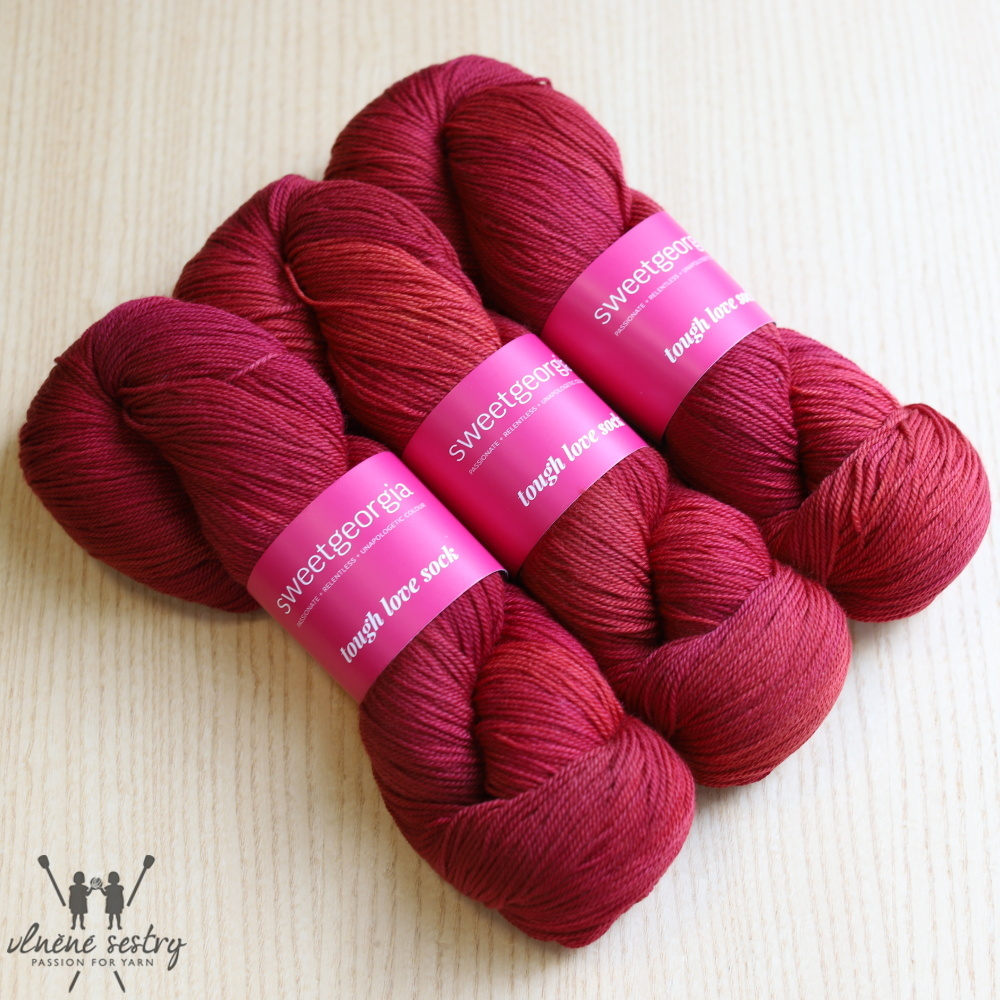 Tough Love Sock - Candy Apple