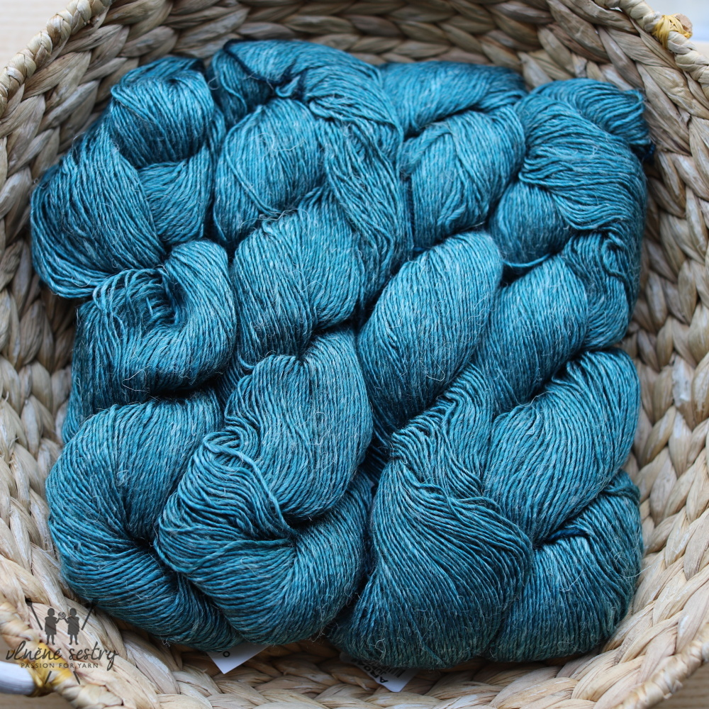 Malabrigo Susurro 412 Teal Feather