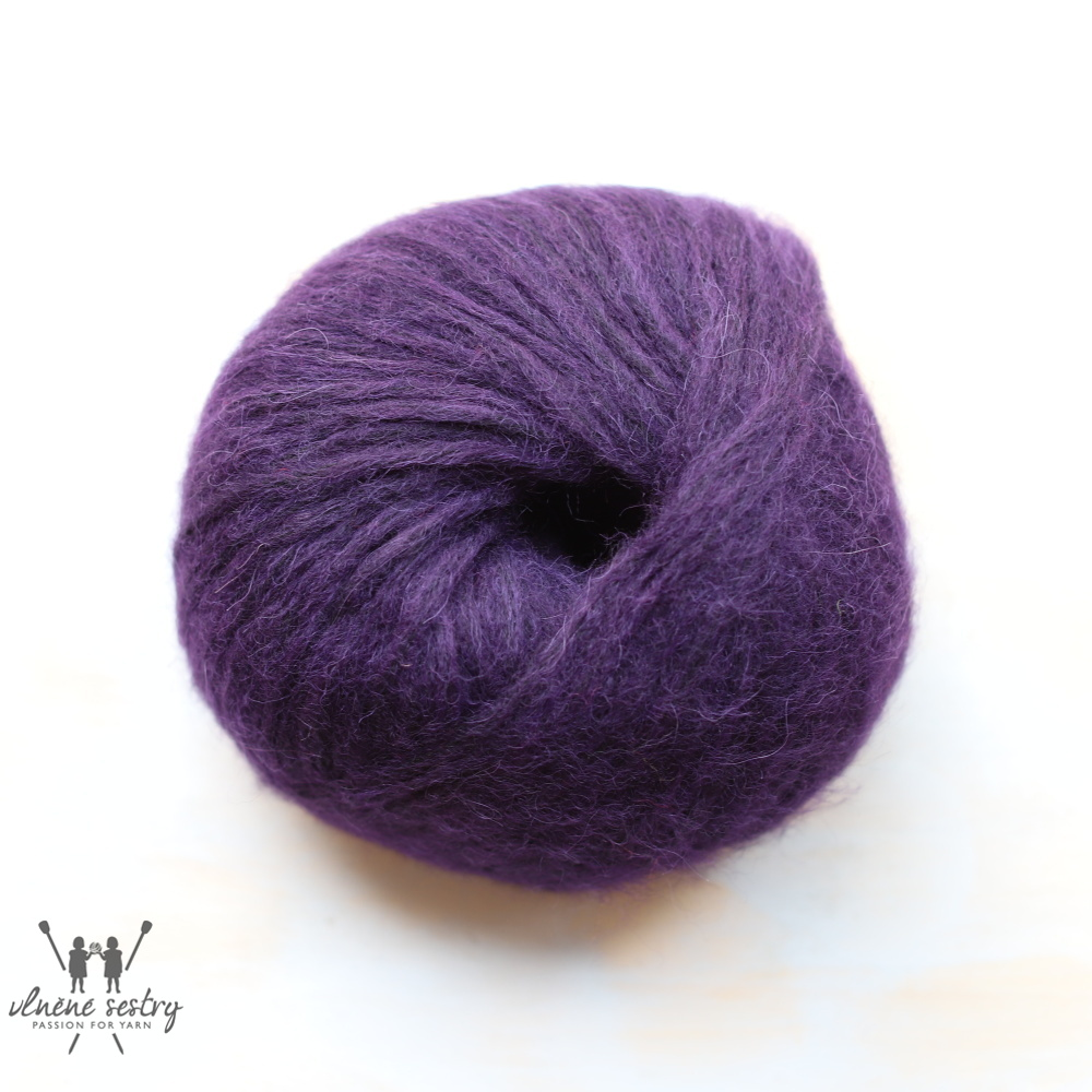 Snefnug -  7330 dark purple
