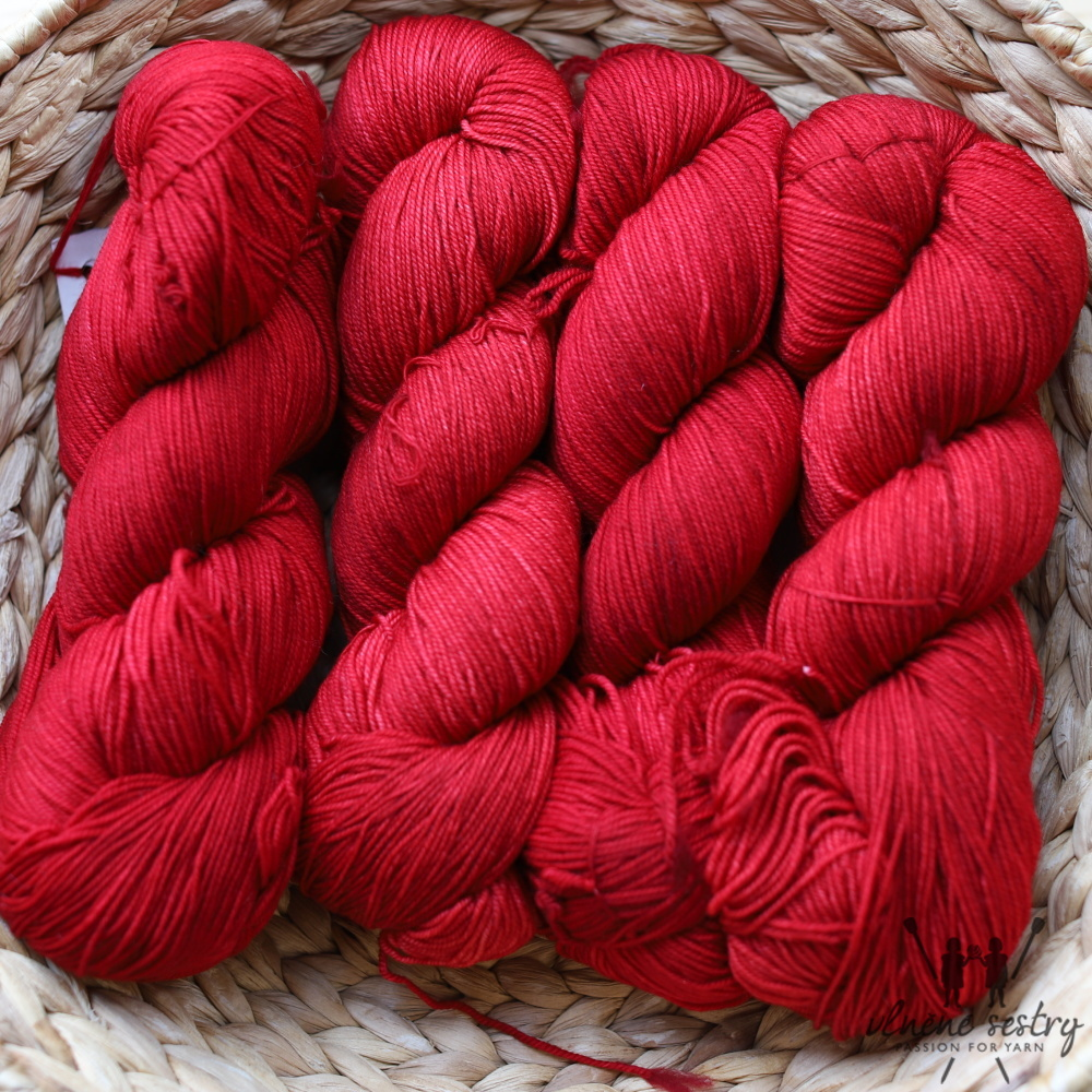 Malabrigo Sock 611 Ravelry Red