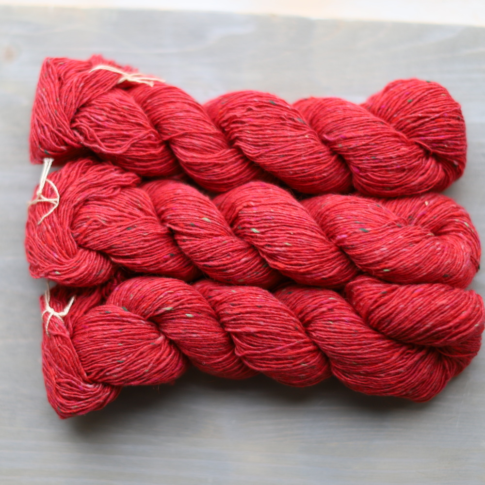 Isager Tweed - Raspberry