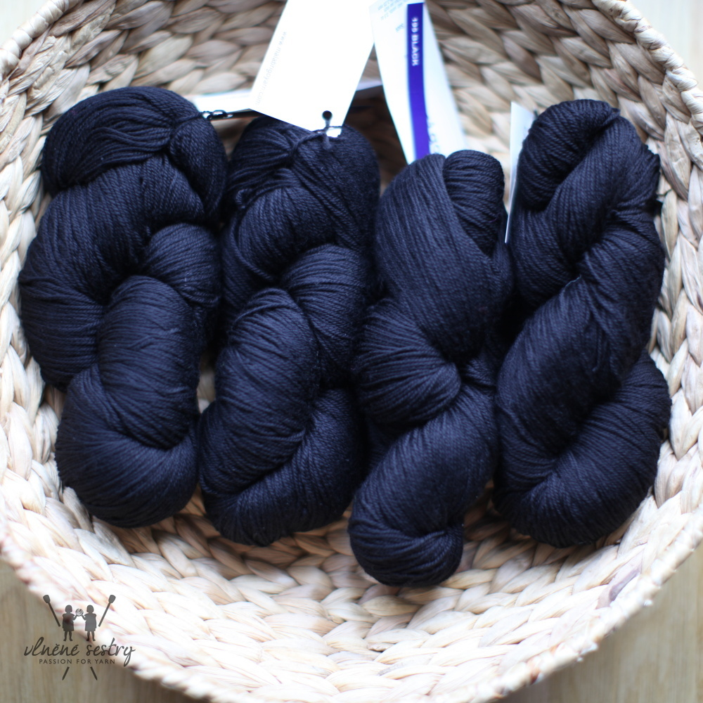 Malabrigo Sock 195 Black