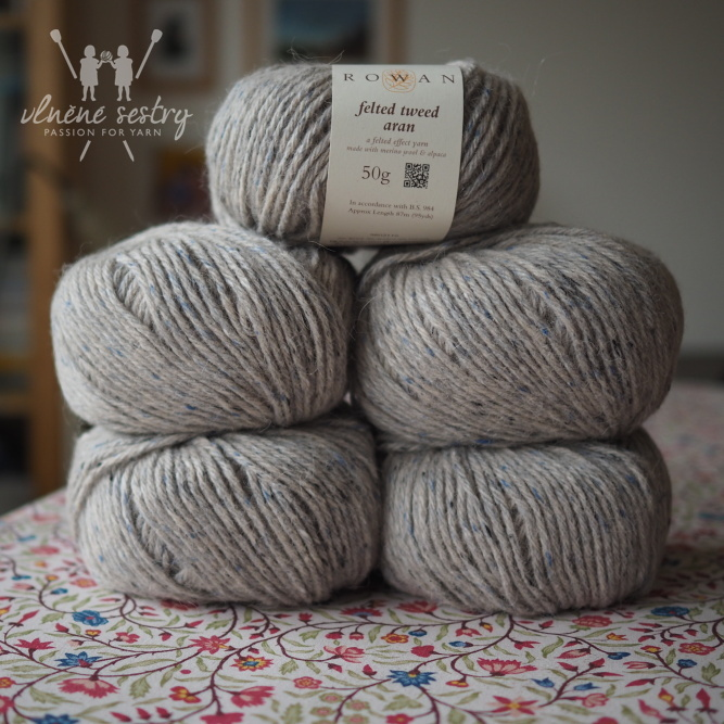 Felted Tweed Aran 777