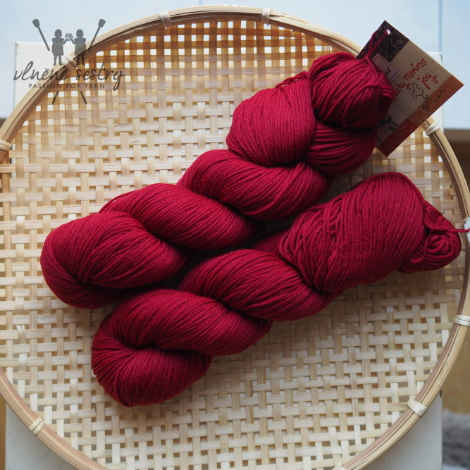 Cheeky Merino Joy - Rose Garden