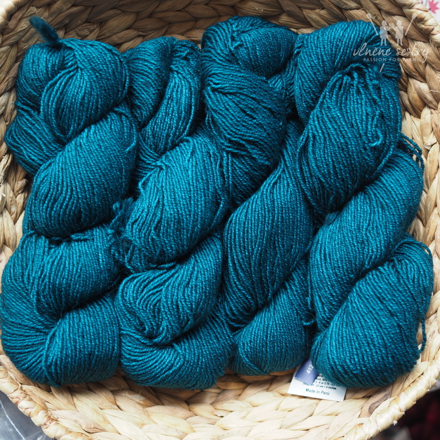 Malabrigo Dos Tierras 412 Teal Feather