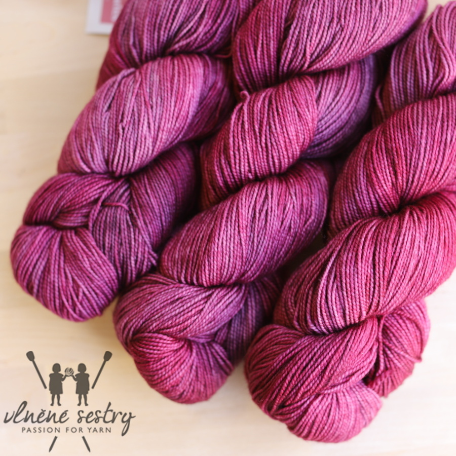 Vivacious 4 Ply - Spiced Plum