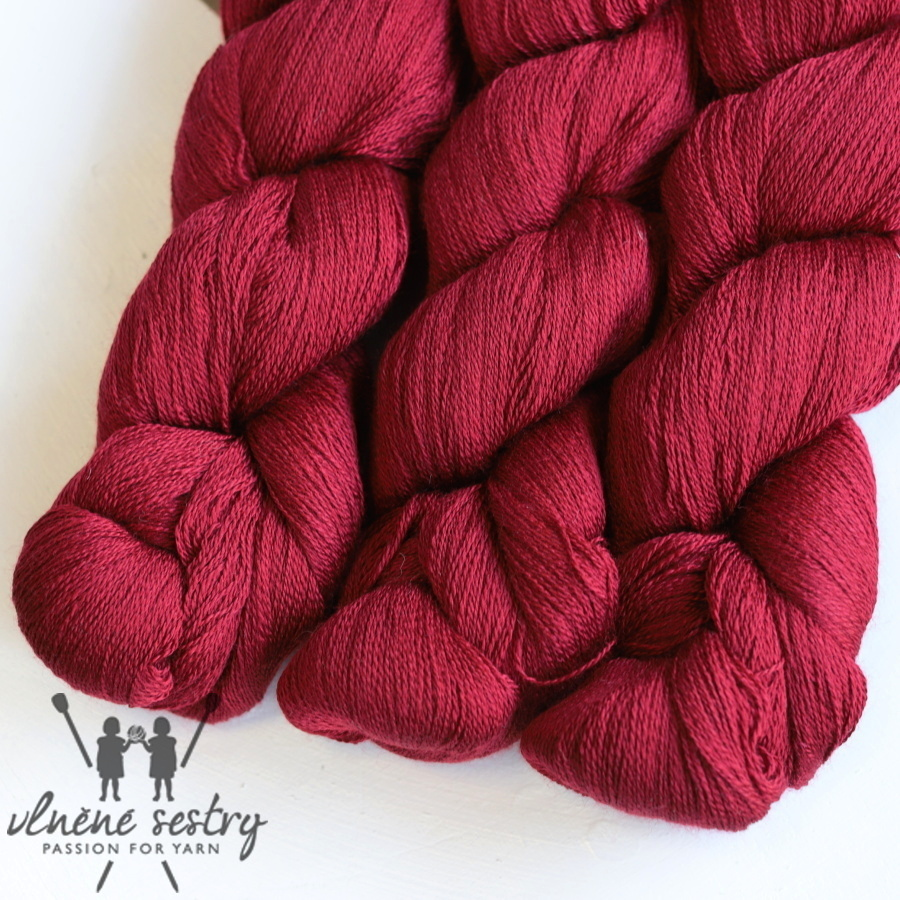 Scrumptious Lace - Cherry