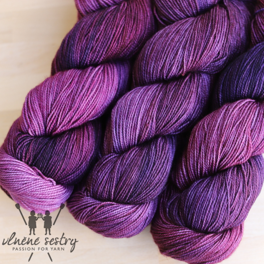 Vivacious 4 Ply - Grape