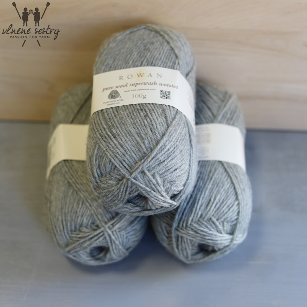 Pure Wool Worsted 112 Moonstone