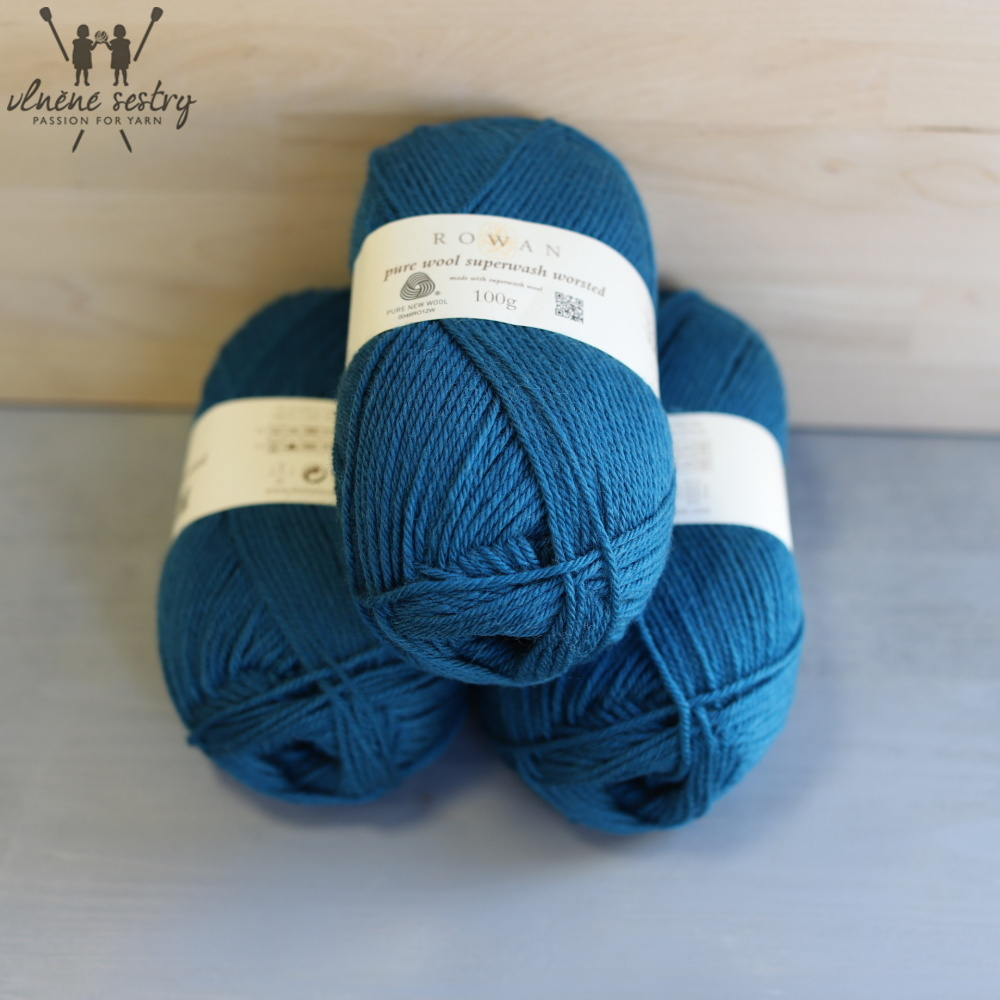 Pure Wool Worsted 144 Mallard