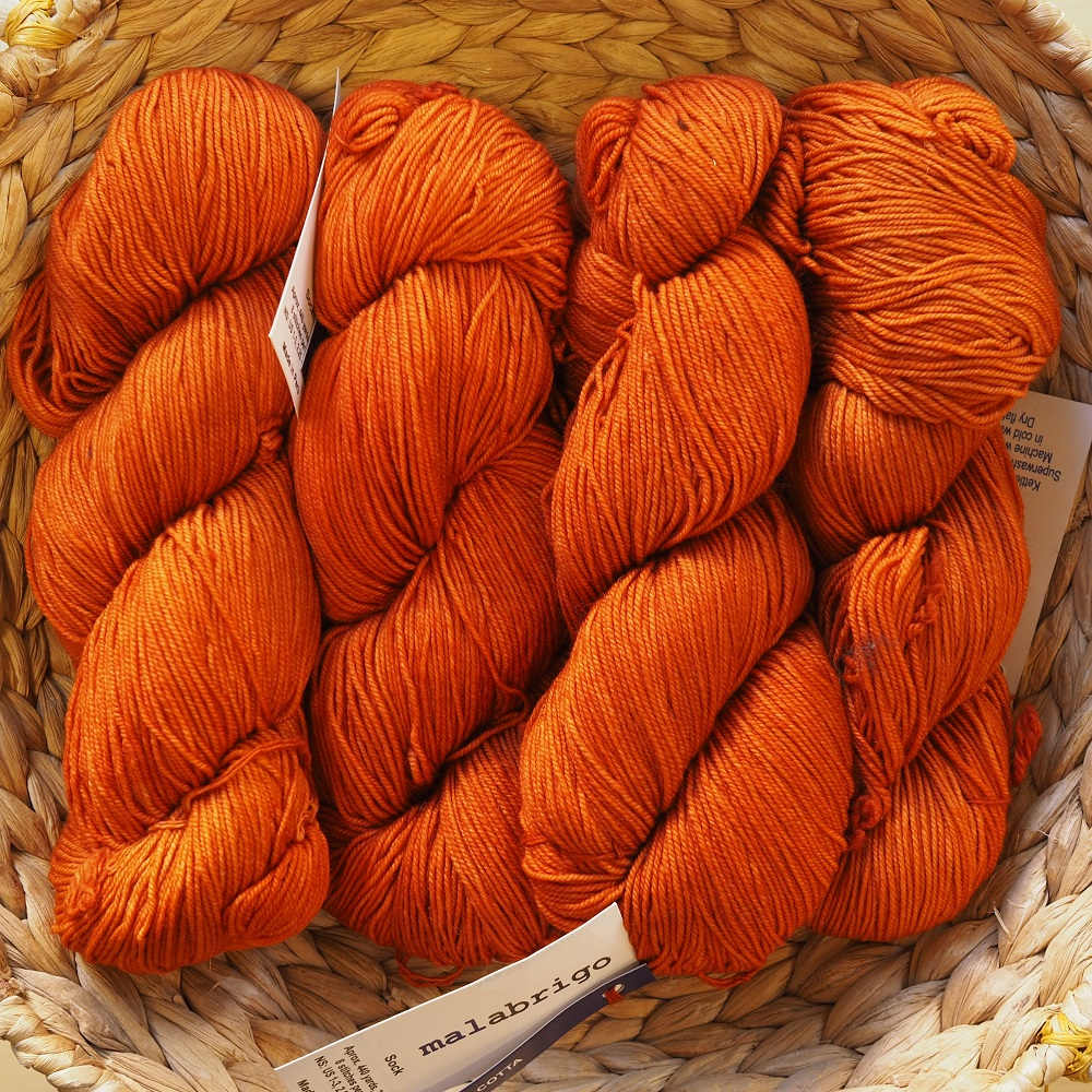 Malabrigo Sock 802 Terracota 01
