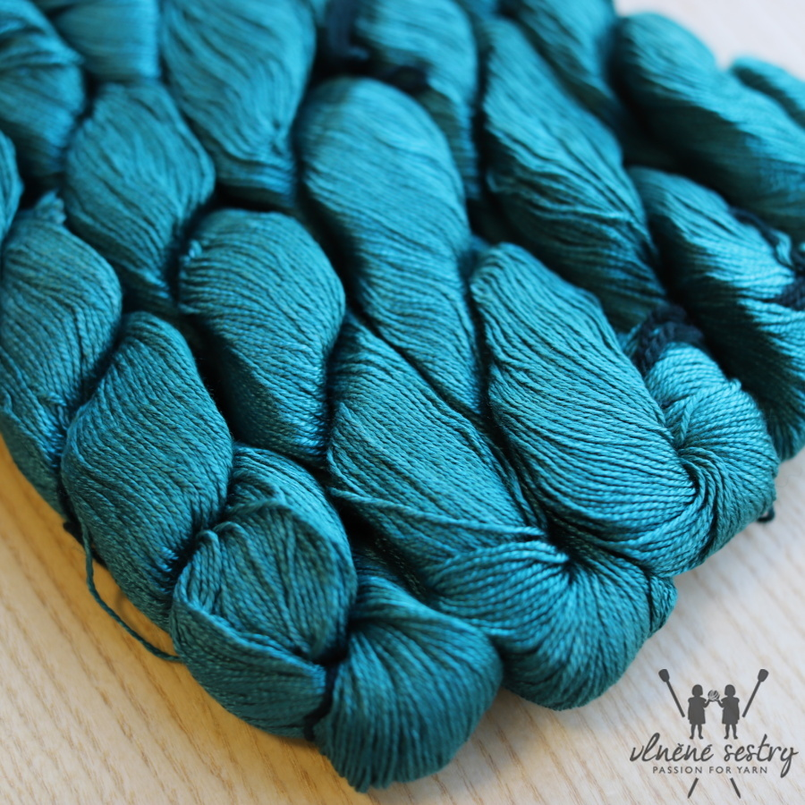 Malabrigo Mora Teal Feather