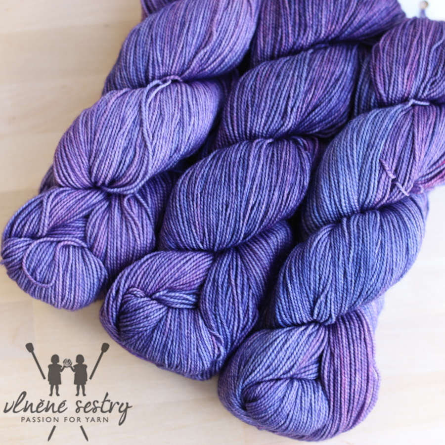 Vivacious 4 Ply - Blueberry Imps