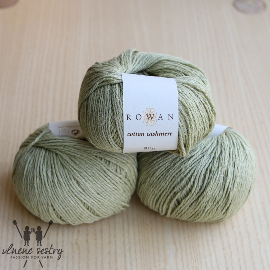 Cotton Cashmere -  220 Linden Green