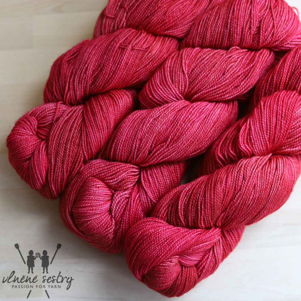Vivacious 4 Ply - Strawberry
