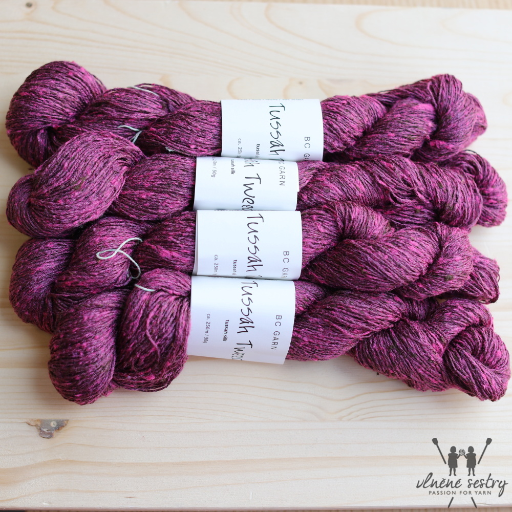 Tussah Tweed 02 Bordeaux