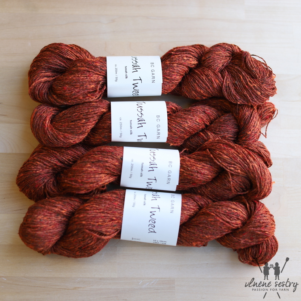 Tussah Tweed 05 - Brown Fantasie