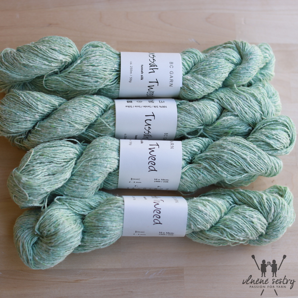 Tussah Tweed 14 Aqua-mix-hell
