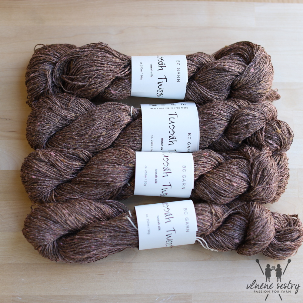 Tussah Tweed 38 Brown-earth-mix