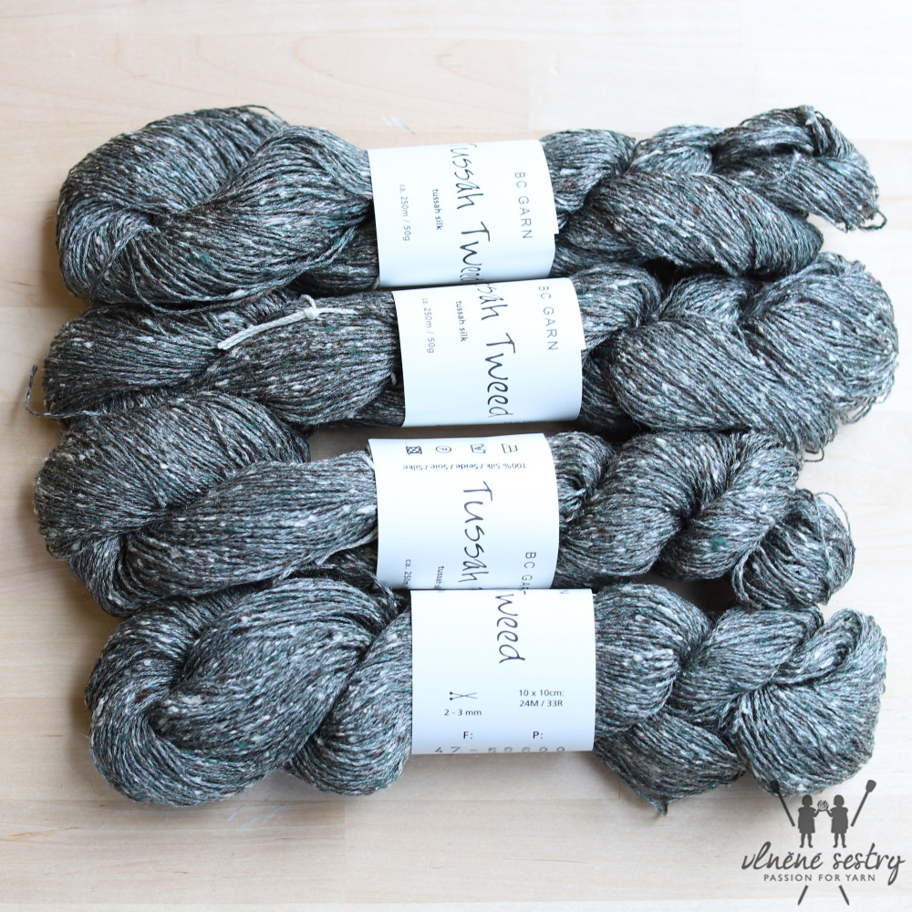 Tussah Tweed 47 Grey Turkiss Mix