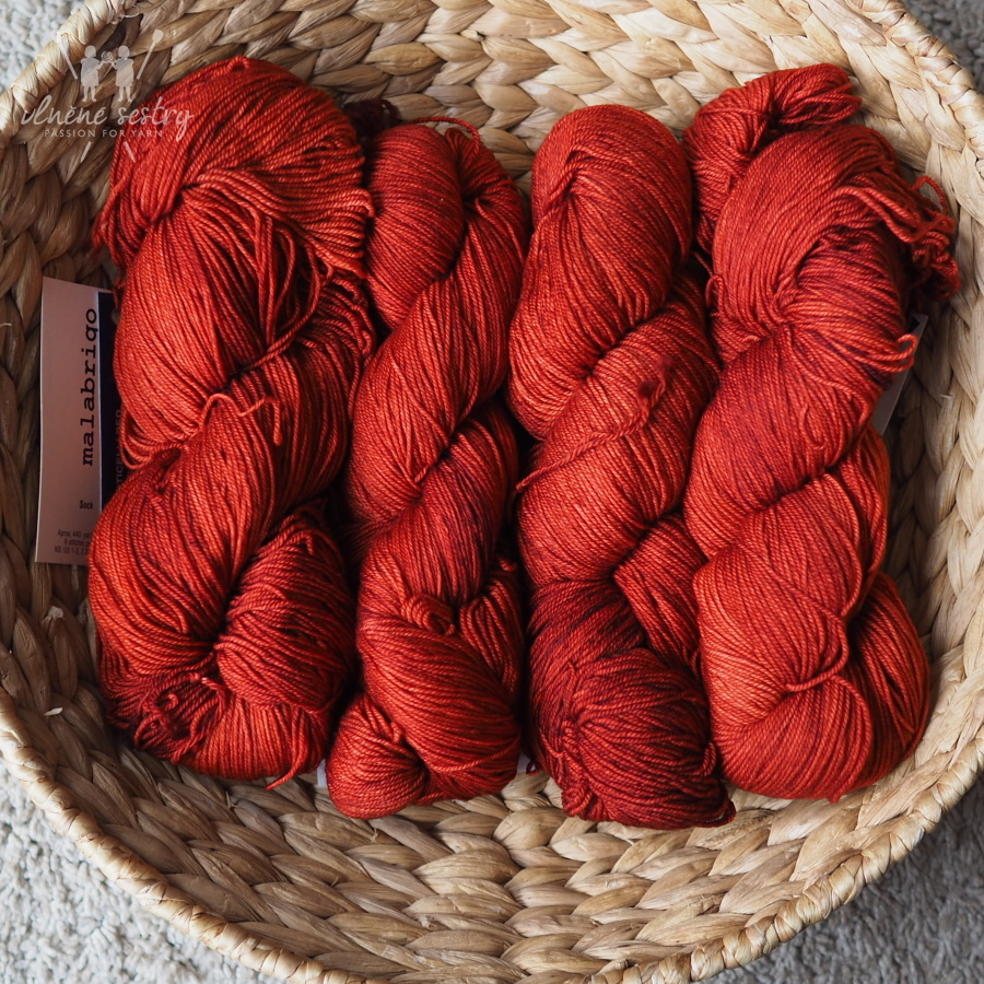 Malabrigo Sock 801 Botticelli Red