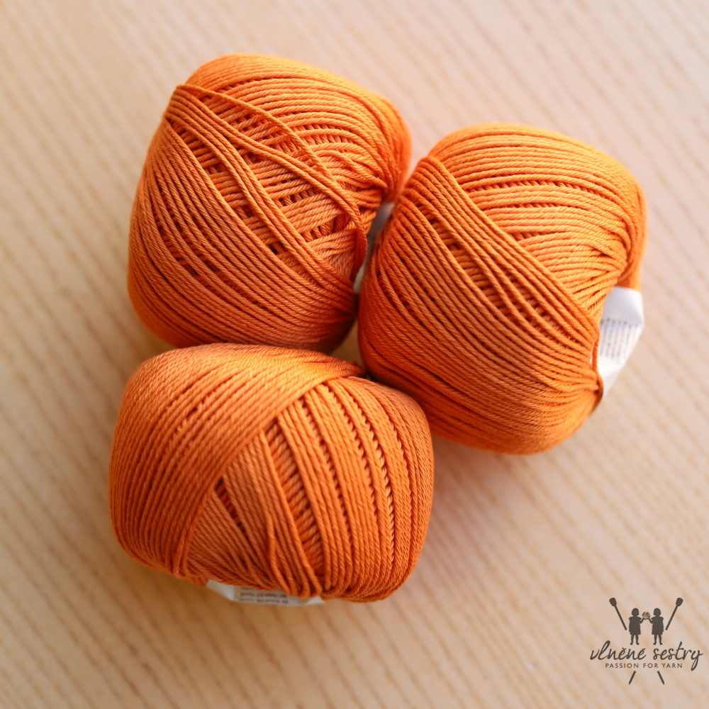 Cotton Glacé  - 832 Persimmon