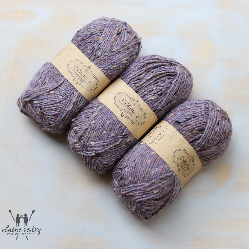 Lama-tweed - 6466 Purple