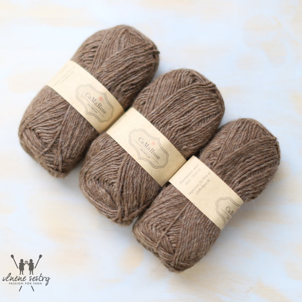 Lamauld 1/2 - 6085 brown mix