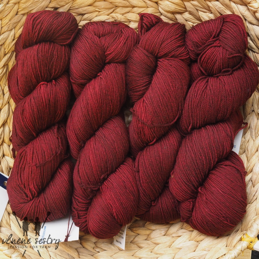 Malabrigo Sock 800 Tiziano Red