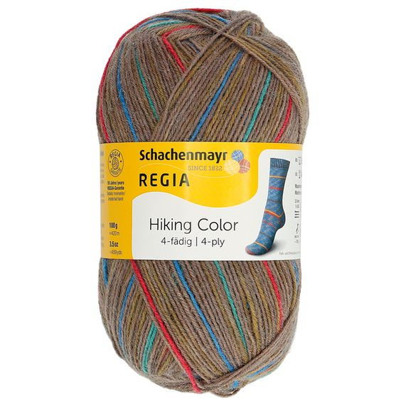 Regia Hiking Color 4-ply Chalet