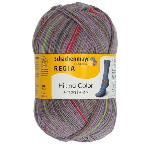 Regia Hiking Color 4-ply Hiking Trail